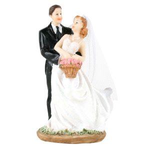 Brudepar dansende 13 cm