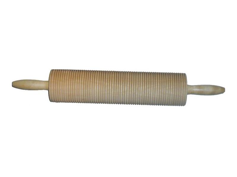 Kjevle med riller, 32x7cm