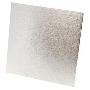 Kakebrett Kvadrat Sølv 22,5cm