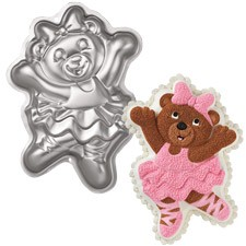 Figurform Ballerina bjørn