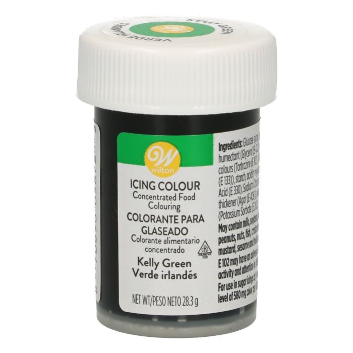 Wilton pastafarge Kelly green, 28g