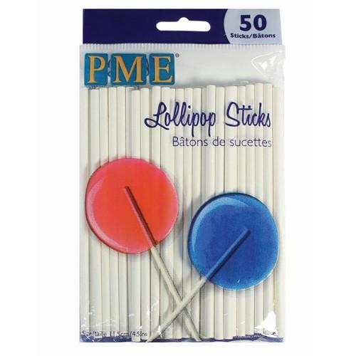 PME Lollipop pinner -11.5 cm- 50 stk