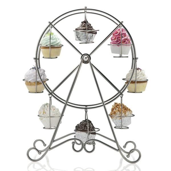 Muffinsstativ Pariserhjul, plass til 8 stk