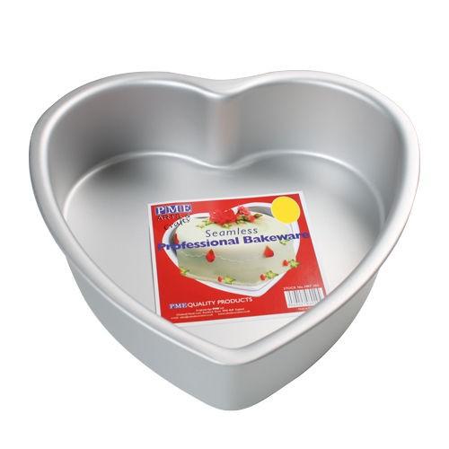 Kakeform, hjerte, 25 cm x 7,5 cm