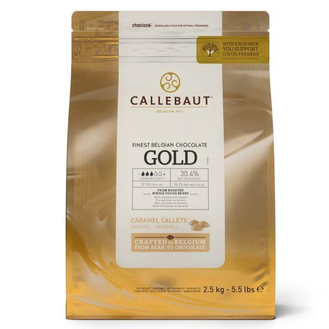 Callebaut sjokolade -Gull- 2,5kg