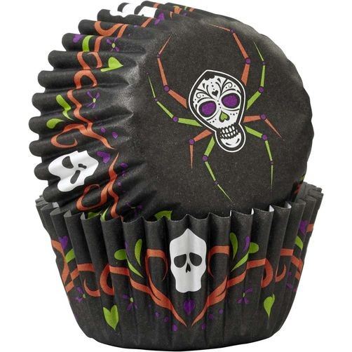 Wilton Mini Muffinsformer -Deadly Soiree- pk/100