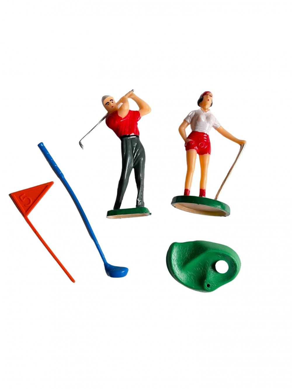 Kaketopp - Golfspillere