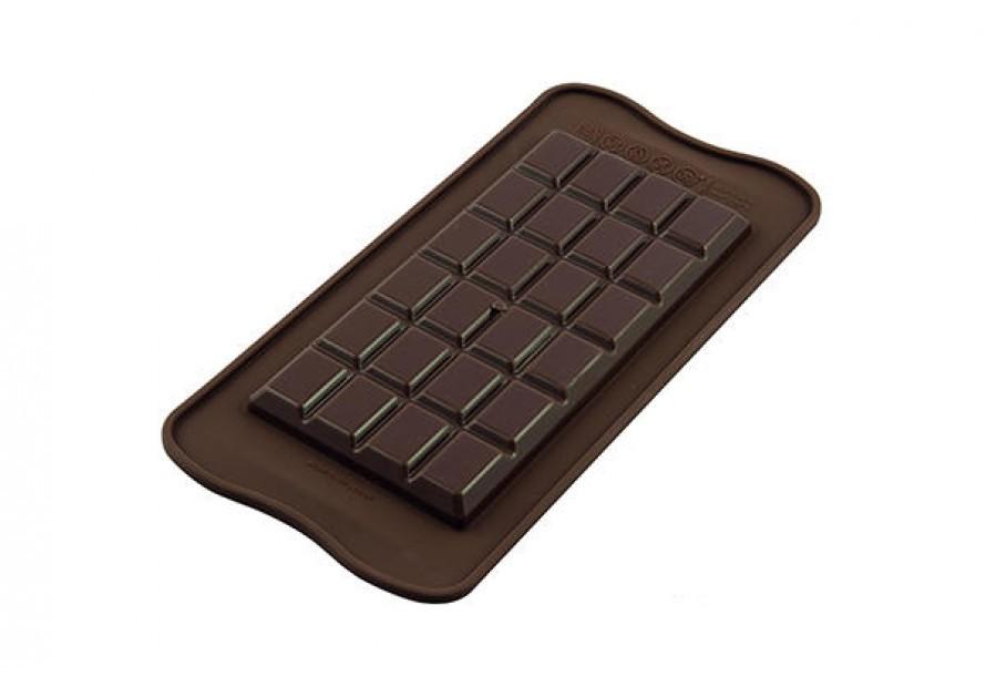 Silikomart silikonform Sjokoladeplate