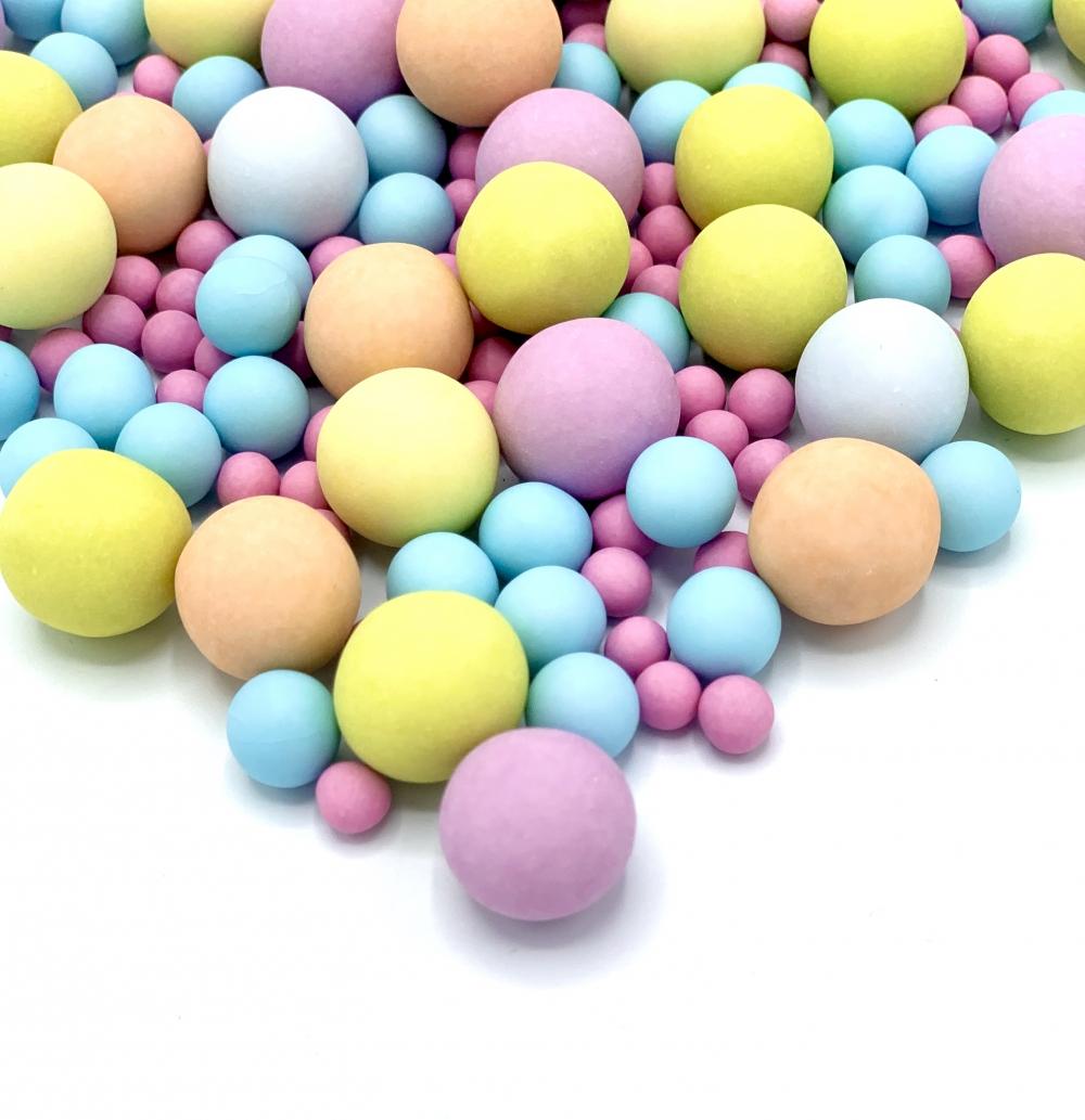 Happy Sprinkles Sjokoladekuler - Bubble Gum 135g