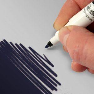 Food Art Pen spiselig tusj - Marineblå
