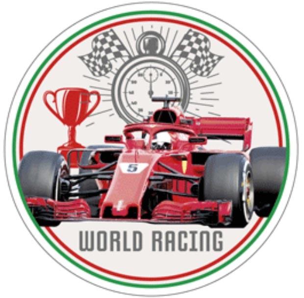 Kakebilde Formel 1, nr 1