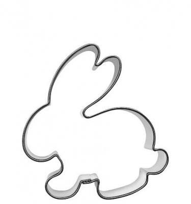 Pepperkakeform kanin liten - 5,5 cm