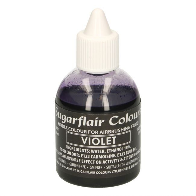 Sugarflair Airbrushfarge -Fiolett- 60ml