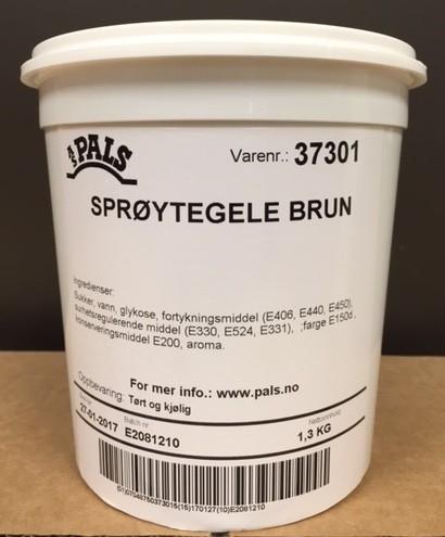 Pals Brun sprøytegele - 1,3kg