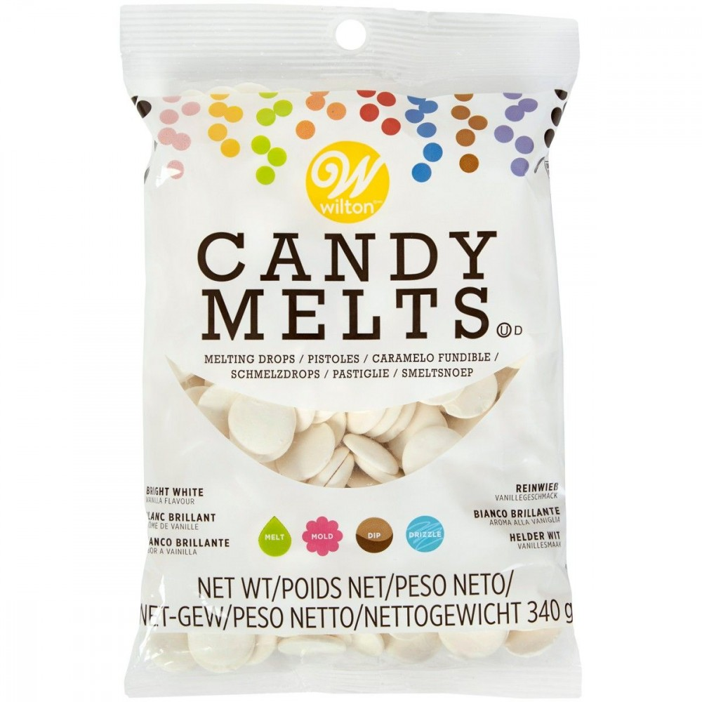 Candy Melts Ekstra hvit 340g