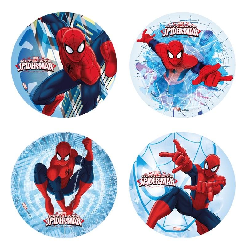 Kakebilde -Wafer- Spider Man, 20 cm