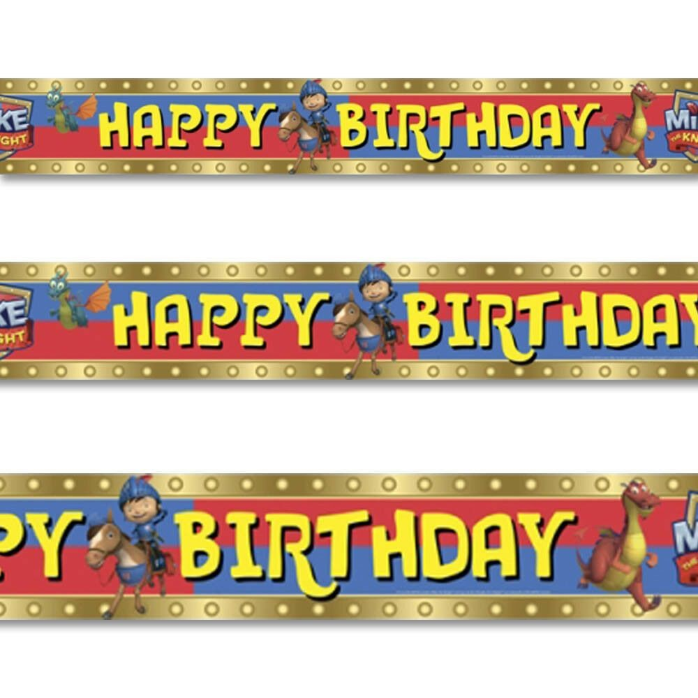 Banner ridder -Mike the Knight- 4.5m