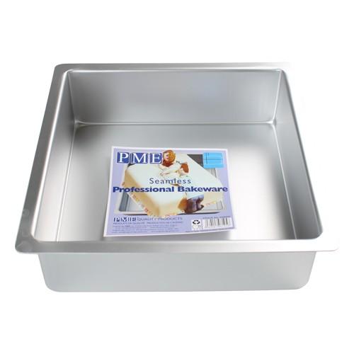 PME Dyp Firkantet kakeform -23x23x7.5cm-
