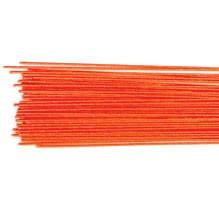 Blomsterwire Metallic Rød 50stk 0,50mm 24 gauge