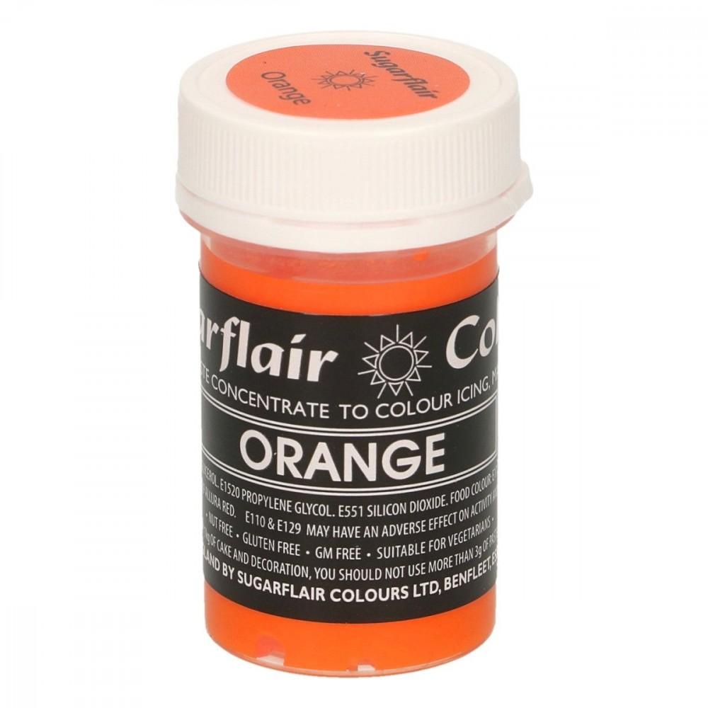 Sugarflair pastafarge Orange, 25g