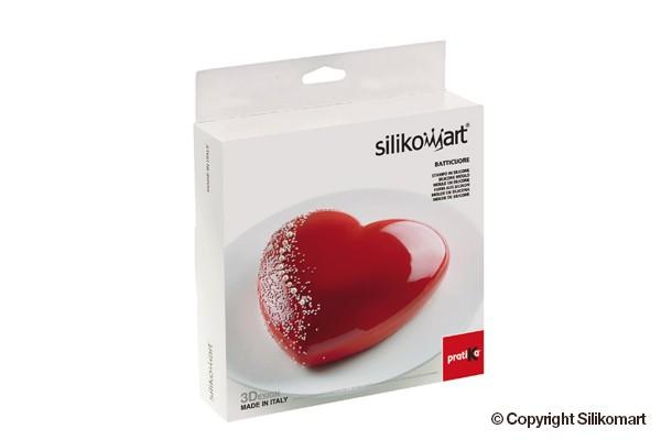Silikomart kakeform hjerte Batticuore