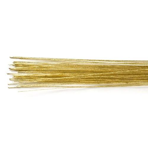 Blomsterwire Gull 50stk 0,50mm 24 gauge