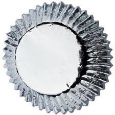 Wilton Muffinsformer Sølv, 24stk