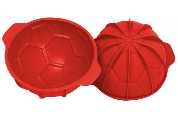 Kakeform i silikon Fotball