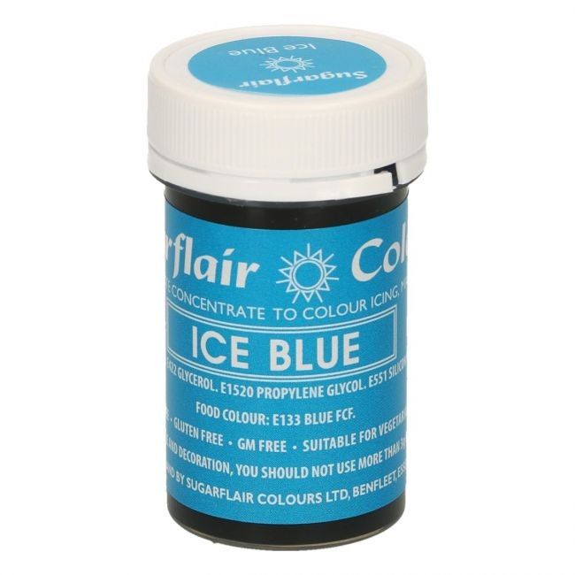 Sugarflair pastafarge Ice Blue, 25g