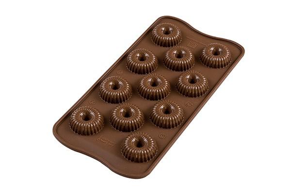 Silikomart konfektform -Choco Crown-