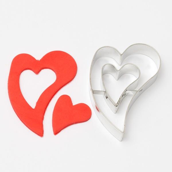 Utstikker Hjerte m/hjerte