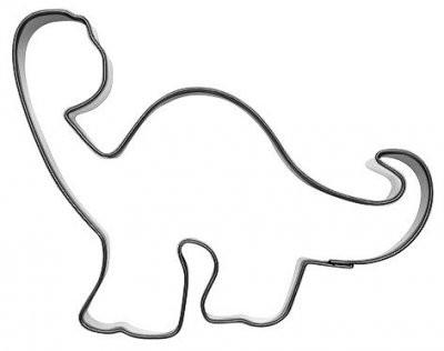 Pepperkakeform dinosaur Langhals 10,5cm