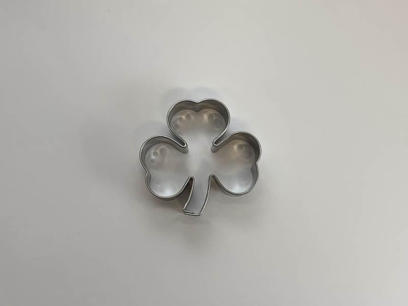 Pepperkakeform Kløver, 4,5 cm