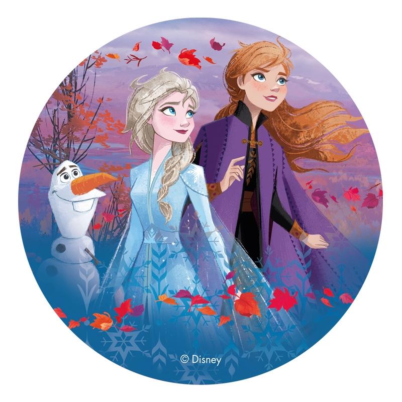 Kakebilde Disney´s Frost 2 - Elsa, Anna og Olaf, 20cm