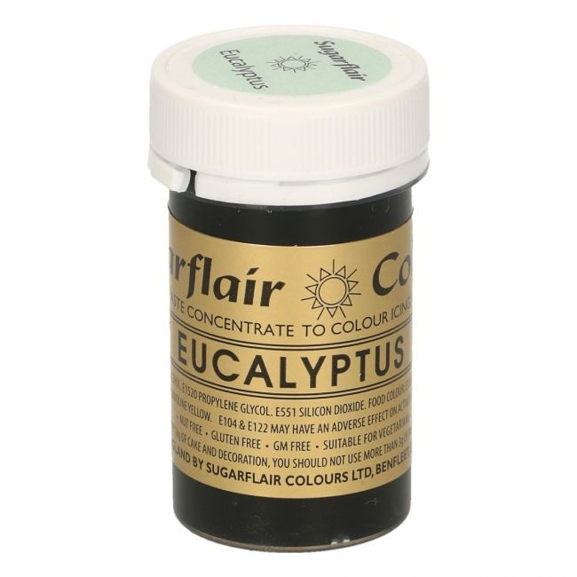 Sugarflair pastafarge Eucalyptus, 25g