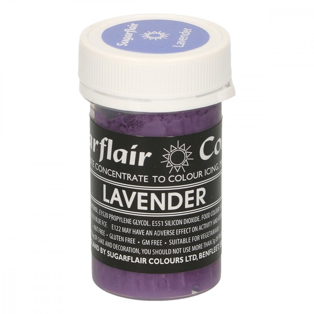 Sugarflair pastafarge Lavender, 25g