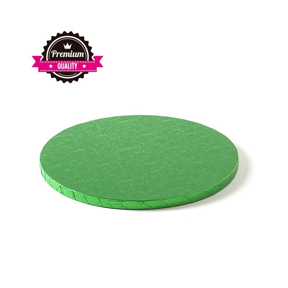 Kake Drum Rund Grønn 25cm