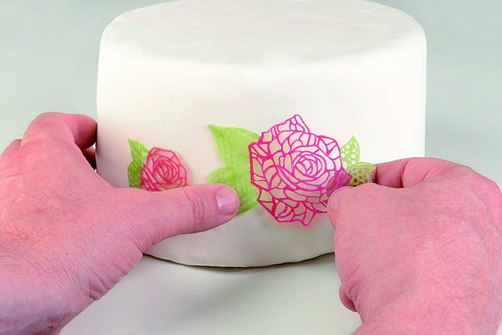 Silikomart Cake Lace silikonmatte -Roser-