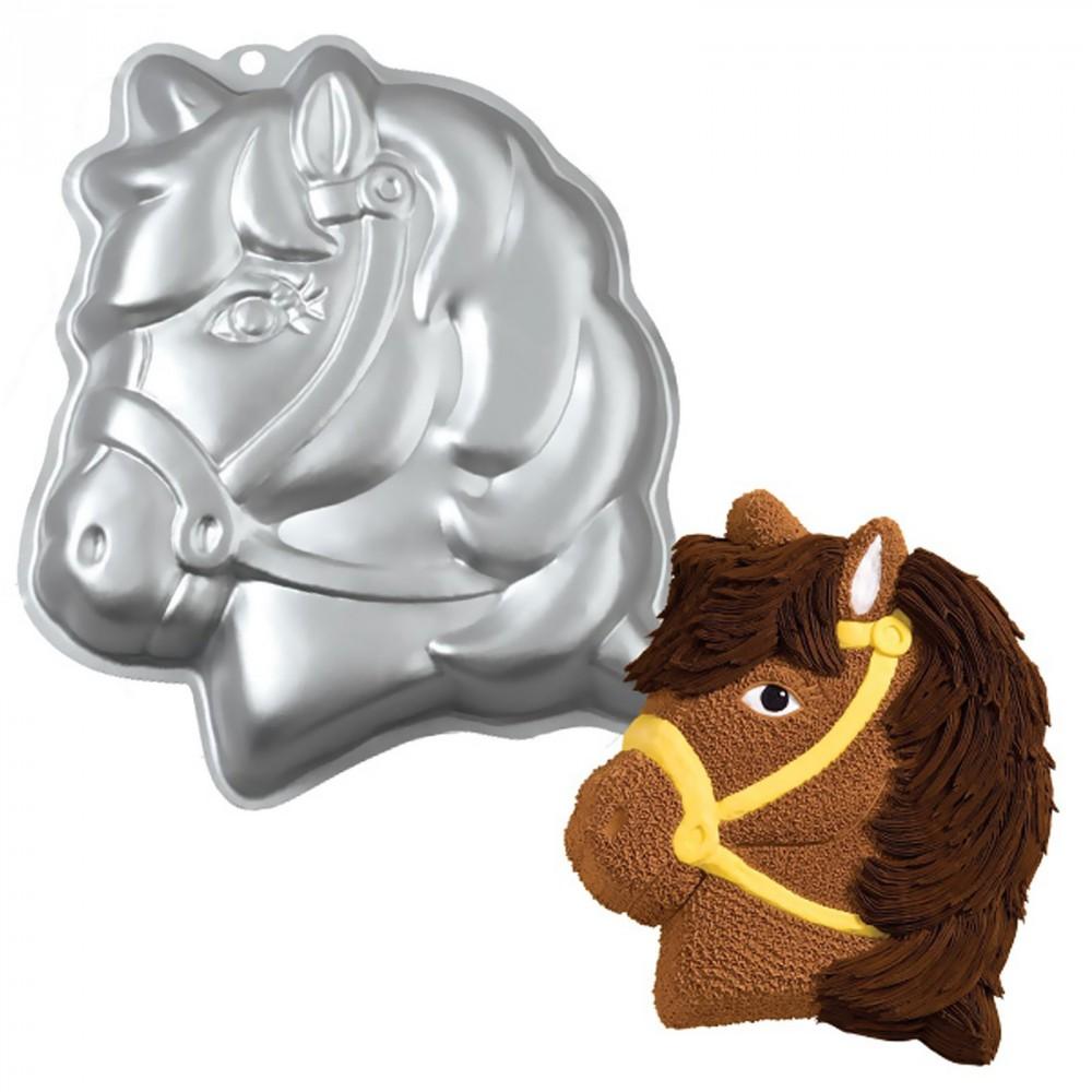 Wilton kakeform Hestehode