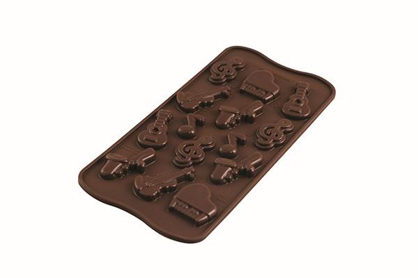 Silikomart Sjokoladeform -Musikk-