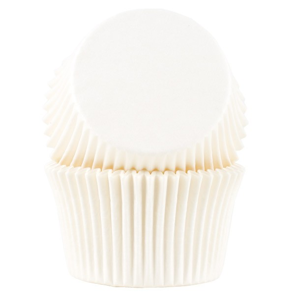 Muffinsform Hvite jumbo, 30 stk