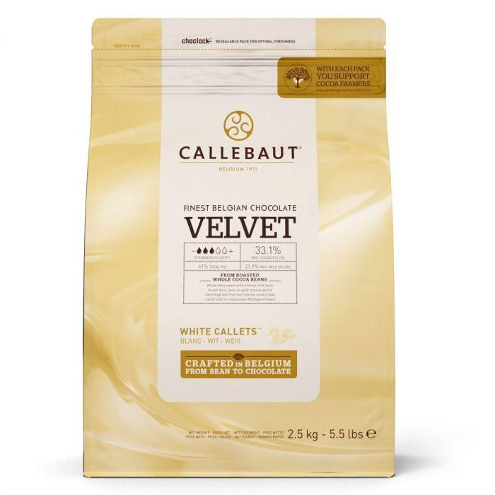 Callebaut hvit sjokolade -Velvet- 2,5kg