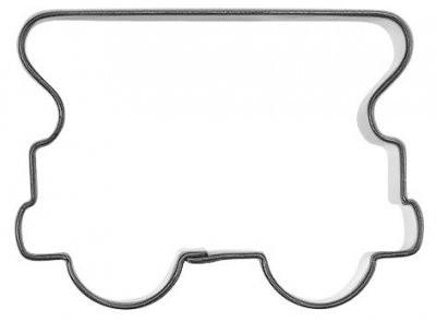 Pepperkakeform togvogn - 6 cm