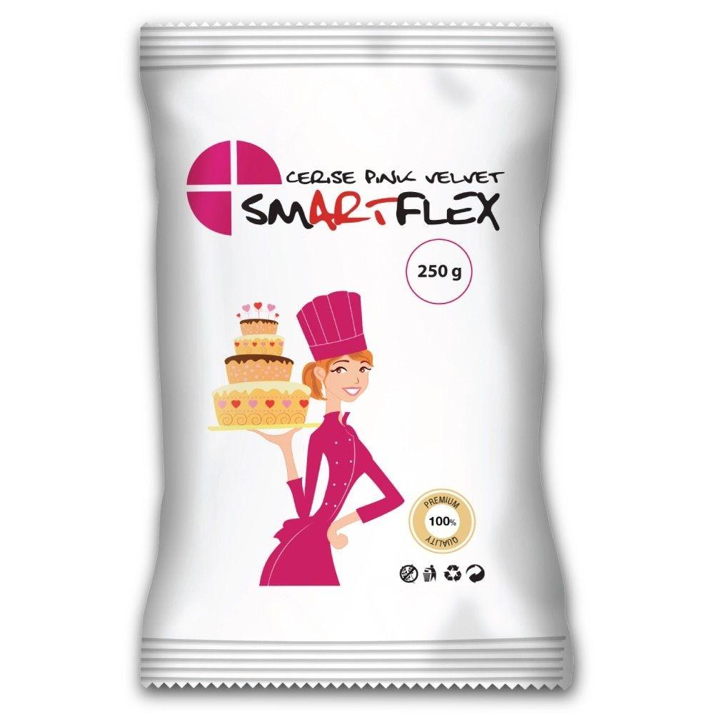 SmartFlex Cerise rosa fondant Velvet, 250g