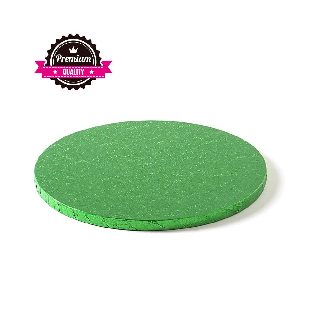 Kake Drum Rund Grønn 30cm
