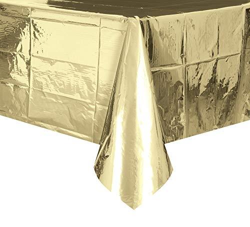 Gull metallic duk 137x274cm