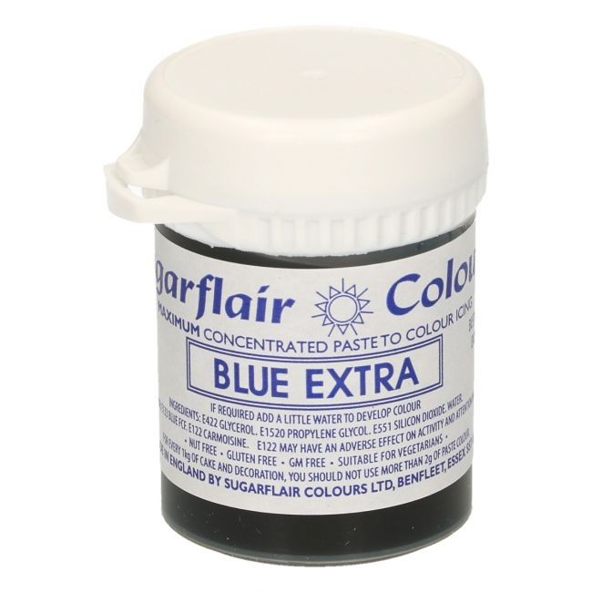 Sugarflair - Max Concentrate pastafarge Blue Extra, 42g