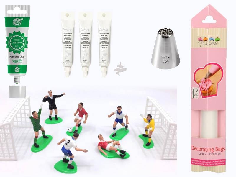Produktpakke til fotballbanekake