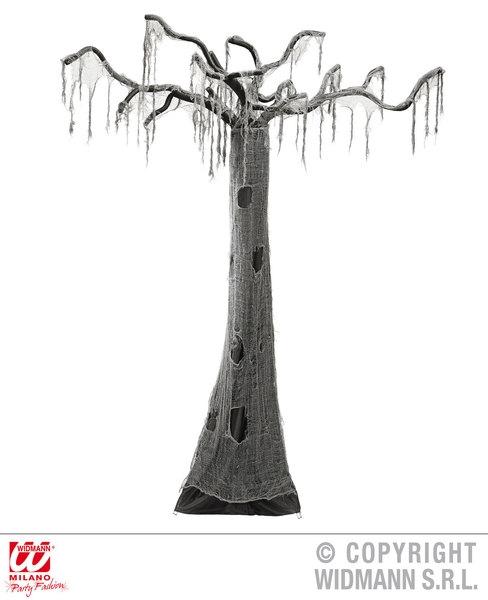 Halloweendekor - tre - ca 2,8 meter høyt