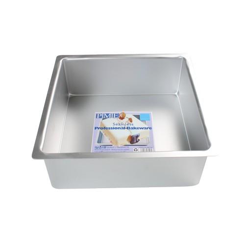 PME Ekstra dyp Firkantet kakeform -10x10x10cm-